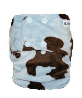 Cow - Blue and Choc