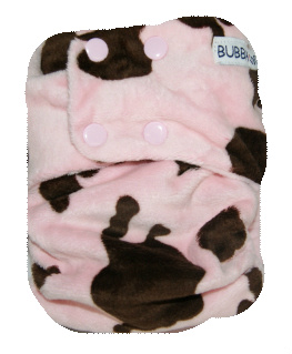 Cow - Pink & Choc