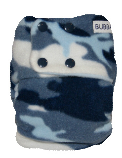 Blue Camo Fleece
